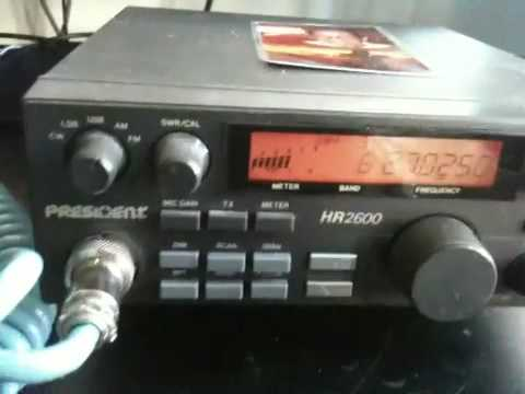 President HR2600 cb ham transceiver