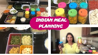 INDIAN WEEKLY MEAL PLANNING ~ PRE PREPARATION & MEAL PLANNING TIPS ~EASY TO FOLLOW INDIAN MEAL PREP