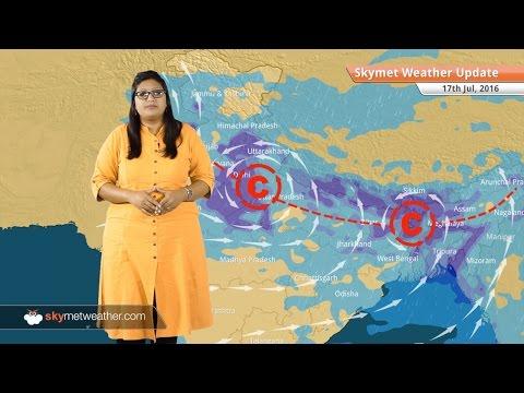 Weather Forecast for July 17: Heavy Monsoon rains in Uttar Pradesh, Bihar, Delhi, Northeast