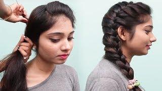 Side braid hairstyles for teenage girls || 2018 Hairstyles | Cute Girls Hairstyles | Hair style girl