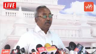 CPM MLA Sunnam Rajaiah Speech at Telangana Assembly Media Point | CM KCR