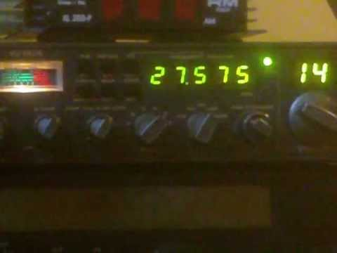 Long QSO DX 27.575 MHz USB 9 July 2012