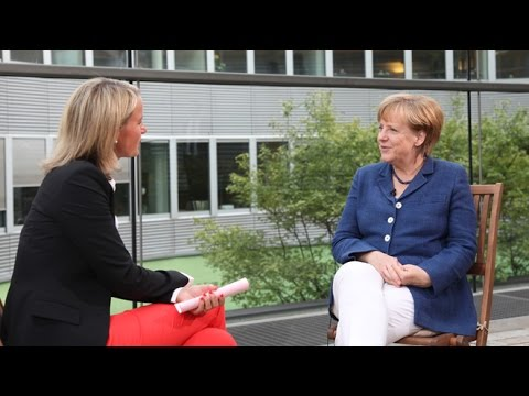 CDU.TV-Sommerinterview mit Angela Merkel