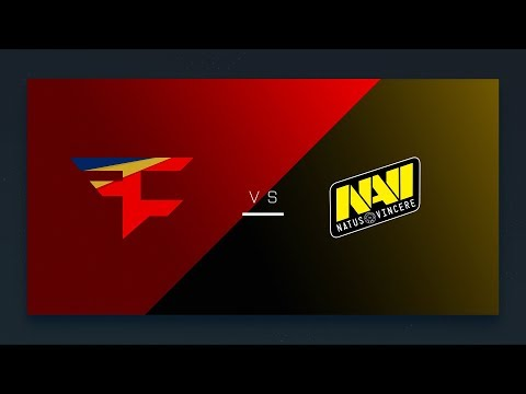 CS:GO: FaZe vs. NaVi [Overpass] Map 1 - EU Final Day - ESL Pro League Season 6