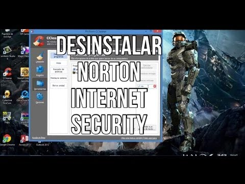 Como Desinstalar Norton Internet Security