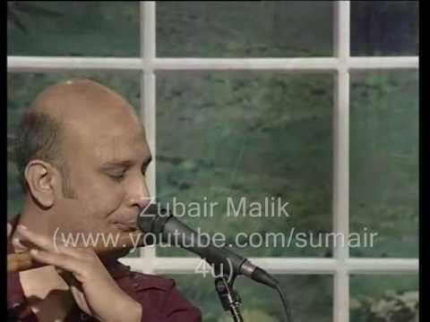 Baqir Abbass Playing Savan Ki Bheegi Raato Main On Bansuri Flute...