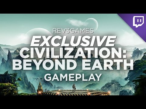 90 MINUTES of Civilization: Beyond Earth Gameplay + Developer Interview!