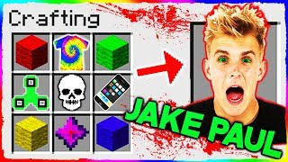 Minecraft - How to Summon JAKE PAUL in Crafting Table!