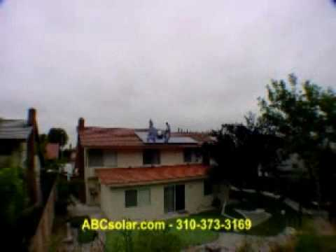Solar Electric Installation - Tile Roof