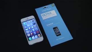 SGP Ultra Crystal iPhone 5 Screen Protector Review
