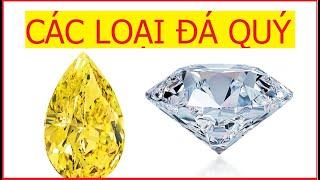 Các loại đá quí kim cương ruby sapphire emerald