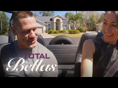 Brie Bella's Wild Driving Lesson With John Cena | Total Bellas | E!