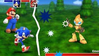 Марио и Соник в Фнаф Ворлд Новая Фан Игра как Fnaf World