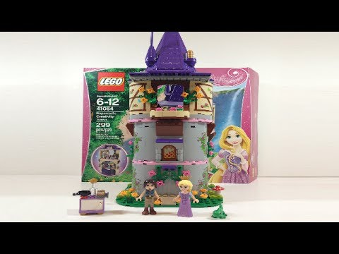 LEGO Disney Princess Rapunzel's Creativity Tower Review 41054