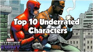 Top 10 Underrated Characters - Marvel Future Fight