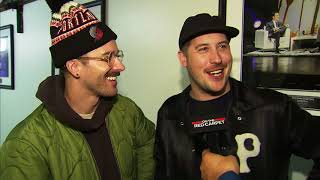 Download Lagu PORTUGAL. THE MAN talk before their 2017 American Music Awards performance Gratis STAFABAND