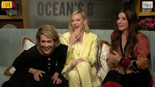 Sandra Bullock, Cate Blanchett and Sarah Paulson hilariously do their best Irish accents