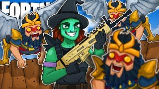 WIZARD OF OZ! NEW Wicked Witch and Flying Monkeys In Fortnite Battle Royale?!