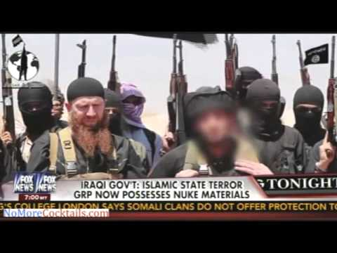 ISIS seizes American MRAPs and nuclear material in Iraq