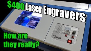 K40 Laser Cutter/Engravers... How Are They Really?!?