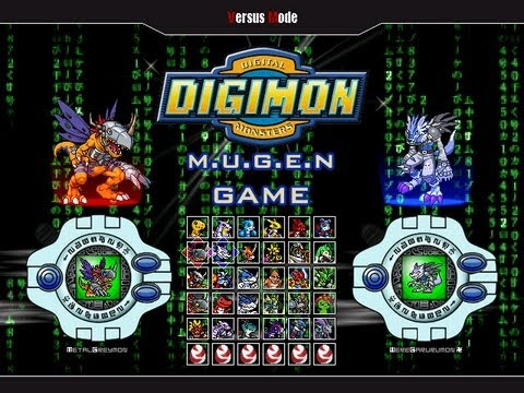 DIGIMON M.U.G.E.N 2013 - BETA Download (free PC game) by RistaR87