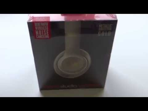 apple Beats by Dr. Dre Studio Wireless  - Gold unboxing