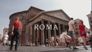 ROME Cinematic | Sony a6500 | Sigma 56mm f/1.4 Test