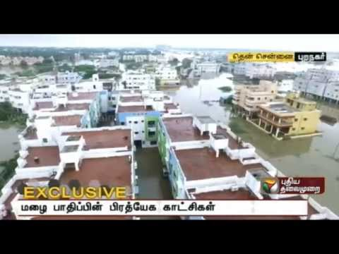 Exclusive Video: Chennai sinks in rain water, floods everywh