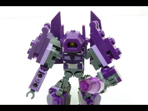KRE-O Transformers Battle Changers Shockwave Rob A Reviews