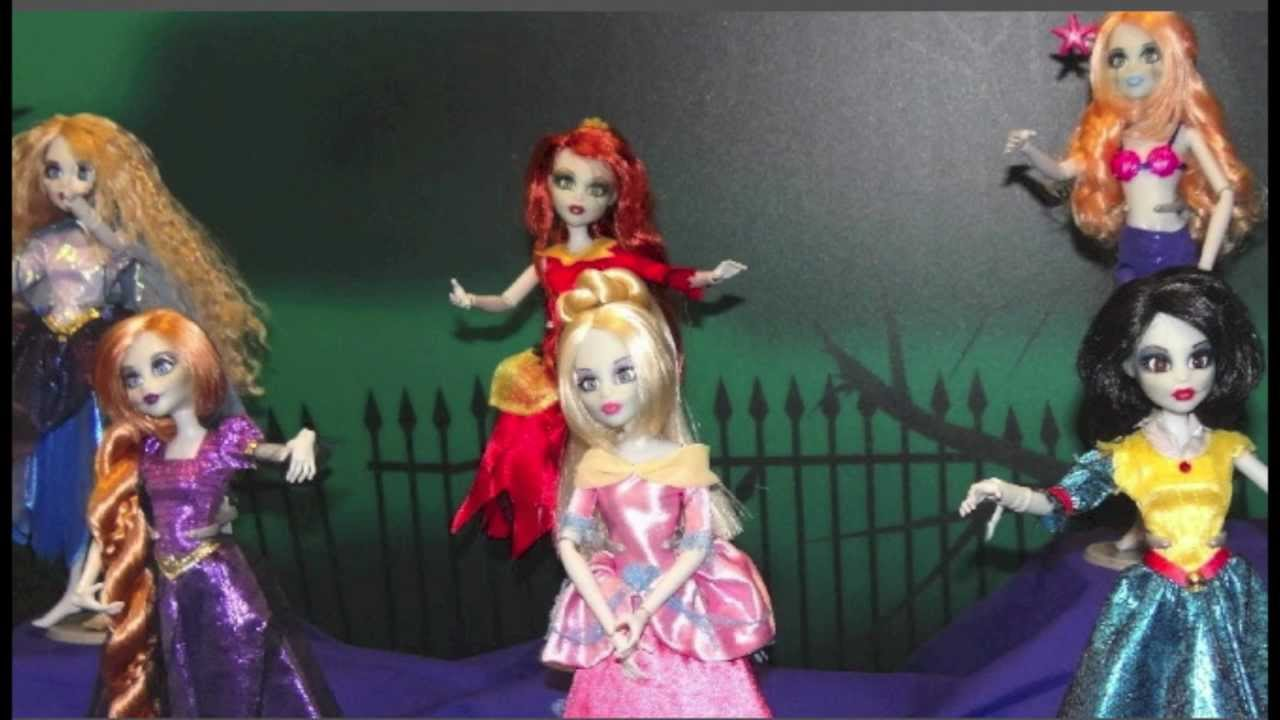 new once upon a zombie dolls youtube