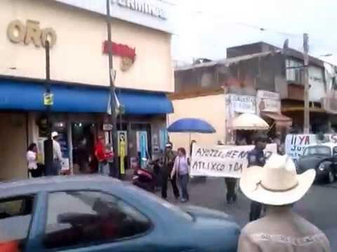 Atlixco Pue. Apoya a Ayotzinapan