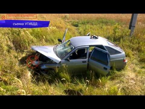 Обзор аварий ДТП в Уржумском районе. Место происшествия 16.08.2016