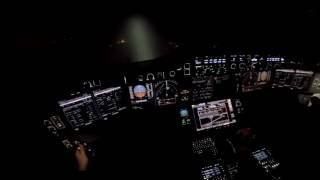 The XWB-Files - Pilot POV during Landing in Snowy Weather