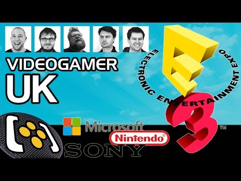 E3 2015: Microsoft, Sony, Nintendo, Gears Of War, Mirror's Edge: Catalyst - VideoGamer UK Podcast
