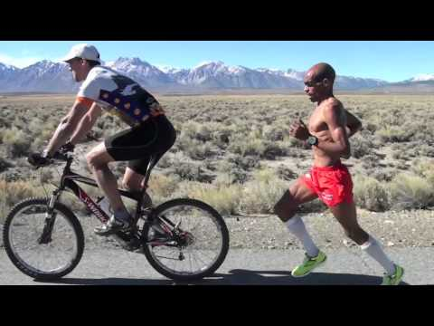 Meb Keflezighi 12 Mile Tempo in Mammoth