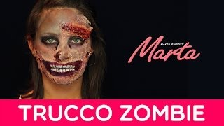 Make-up Zombie | Come truccarsi per Halloween | Marta Make-up Artist
