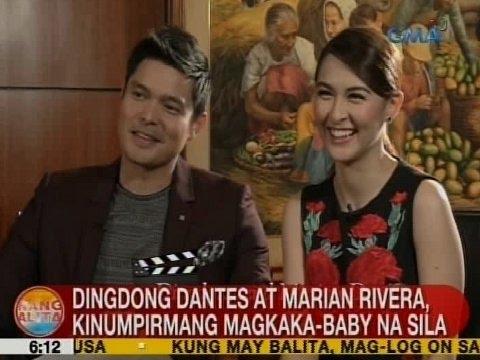 UB: Dingdong at Marian, kinumpirmang magkaka-baby na sila
