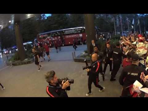 Криштиану Роналду в Москве/Cristiano Ronaldo in Moscow🔥⚽️