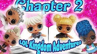 LOL Surprise Dolls Storybook Club Kingdom Adventures Chapter 2! Starring Curious QT and Queen Bee!