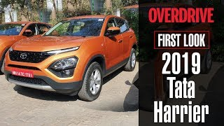 2019 Tata Harrier | First Look | OVERDRIVE