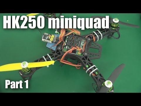 HobbyKing 250 mini racing quadcopter