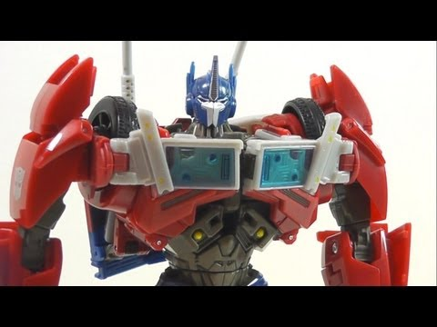 TRANSFORMERS PRIME FIRST EDITION VOYAGER OPTIMUS PRIME EN ESPAÑOL