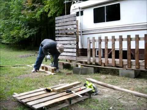 Building A Passive Solar Heating Porch For My Rv Youtube