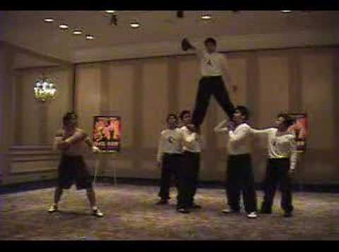 Tony Jaa Kicks Really High
