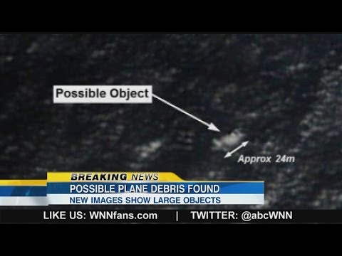 Missing Malaysia Plane: Possible Plane Debris