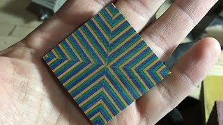 Segmented Spectraply Turning Blanks - How To