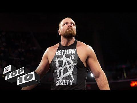 Dean Ambrose's untamed lunatic moments: WWE Top 10, Aug. 20, 2018