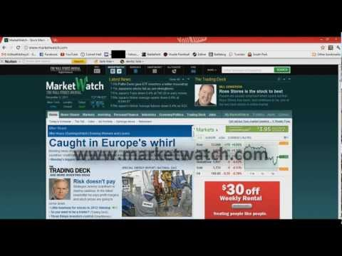 Learn How to Trade in the Stock Market - www.MarketWatch.com