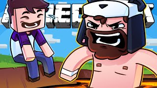 THIS is what happens when you convince BigJigglyPanda to play Unfair Minecraft...