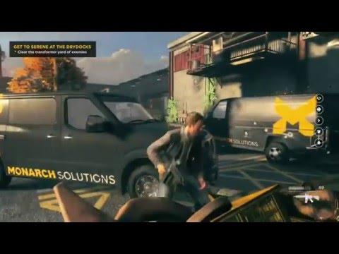 Quantum Break Gameplay Part 6 (Act 2-2) Drydocks